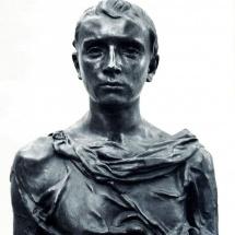 Paul-Claudel-en-jeune-romain-bronze-de-Camille-Claudel