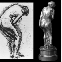 dessin-d'atelier-de-Camille-Claudel-et-Eve-d'Auguste-Rodin-1881