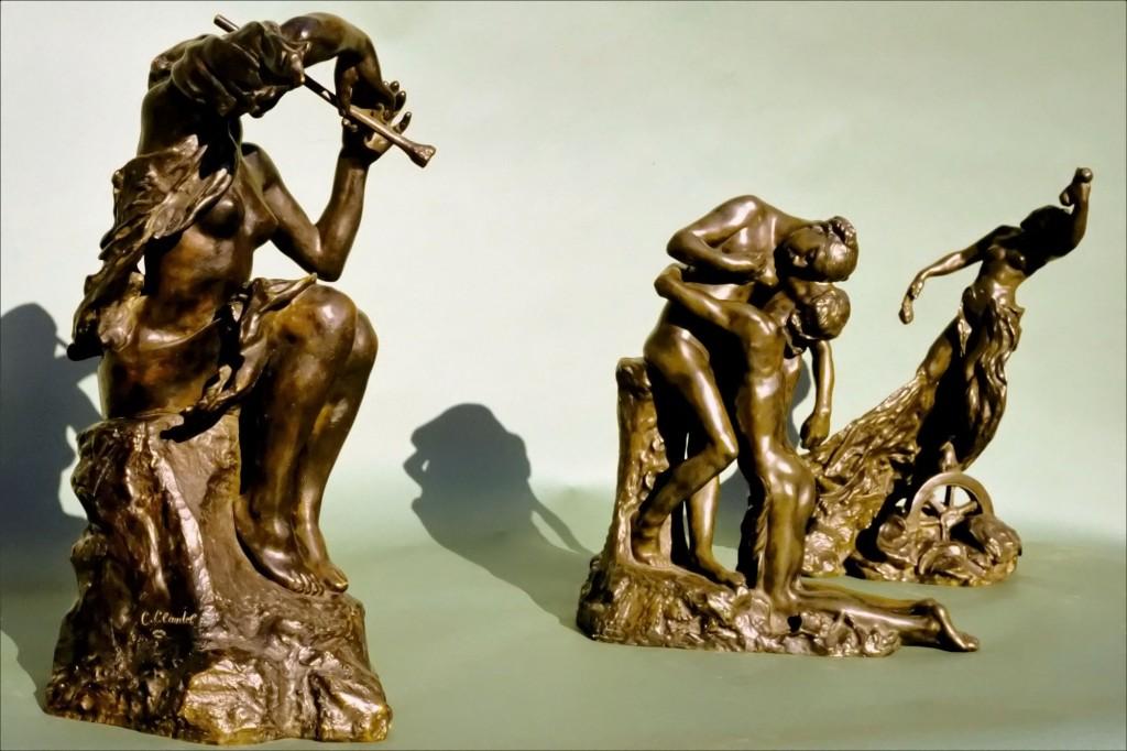 Camille Claudel - La joueuse de flûte, L'abandon et La fortune