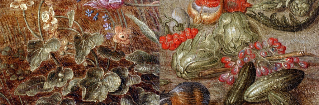 Brueghel The Elements - Earth Macro Details2
