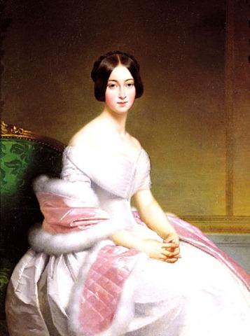 Portrait-de-Madame-De-Blanzay-Alexis-Joseph-Perignon-1806-1882