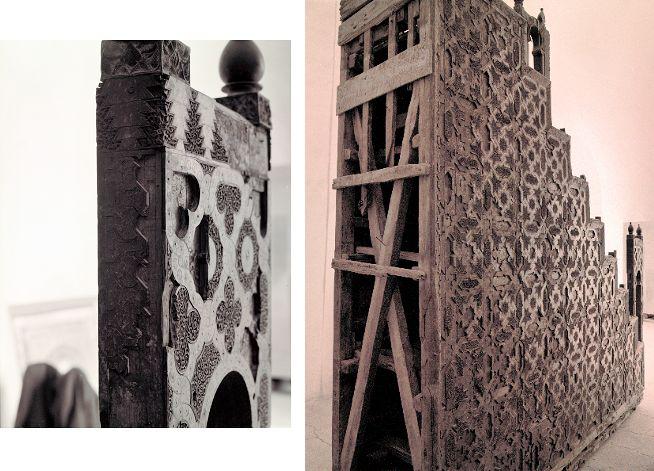 Minbar de la Koutoubia de Marrakech avant restauration de l'UNESCO