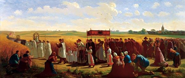 La-bénédiction-des-blés-Jules-Breton-1827-1906