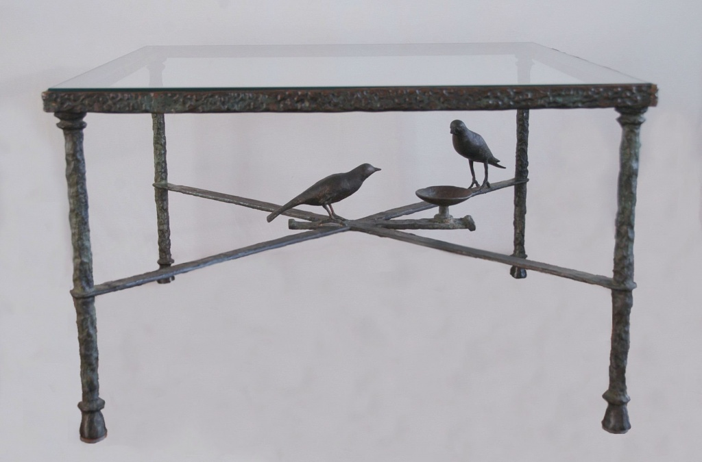 3 table aux oiseaux Diego Giacometti