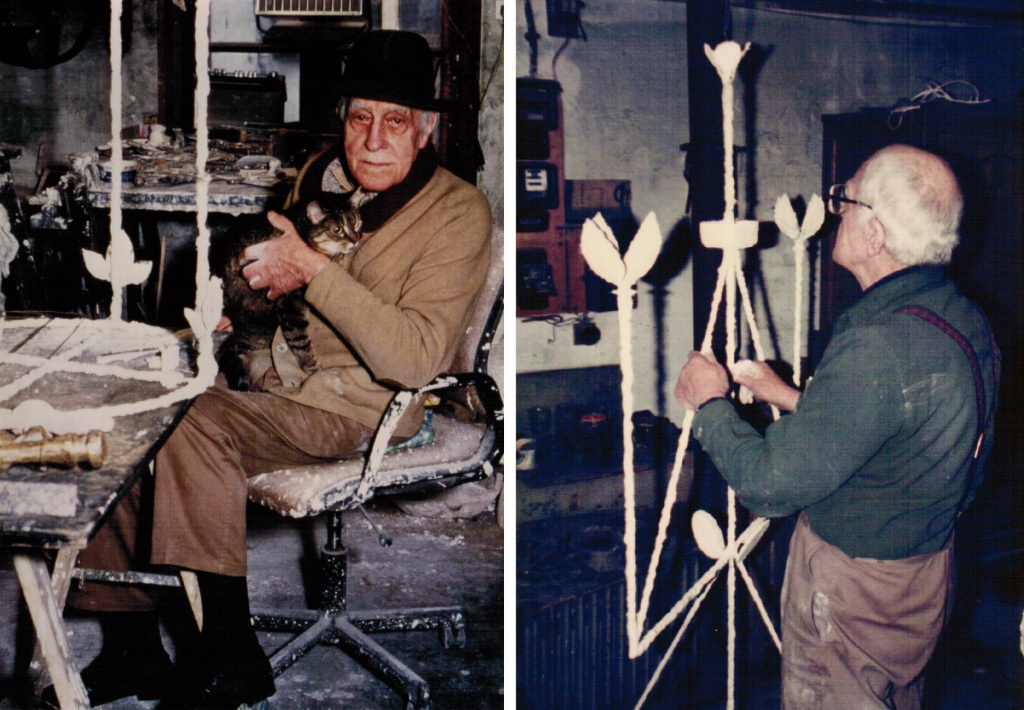 Diego Giacometti working for Picasso Museum 2
